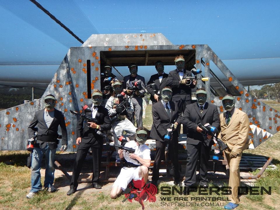 Bucks Party Paintball Melbourne