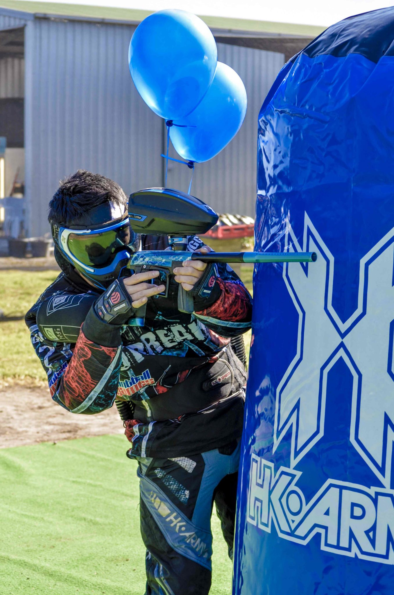Paintball tournament rego
