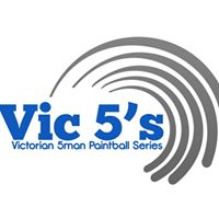 Vic5s paintball tournament logo