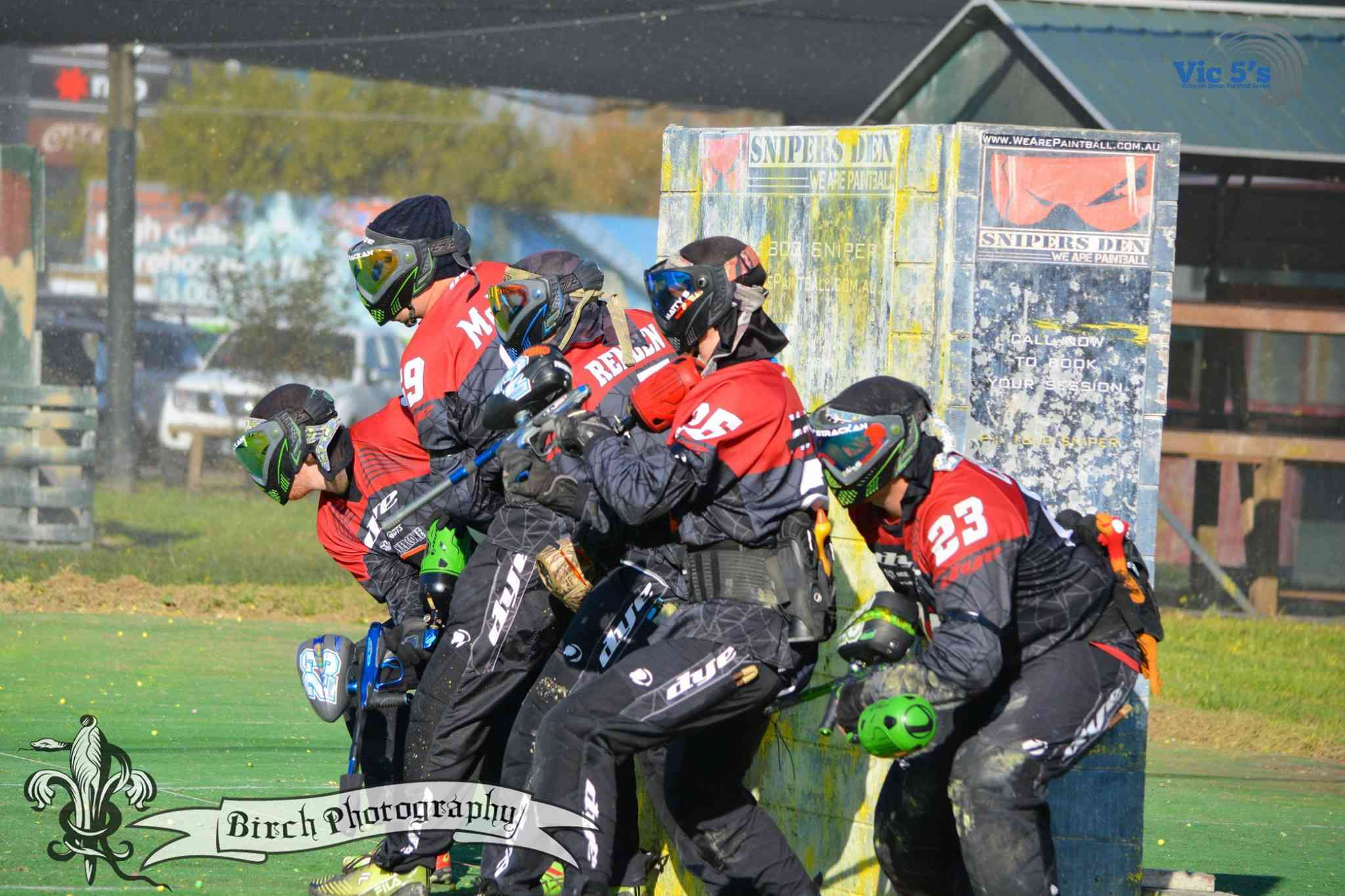 Vic5s Paintball Tournament at Snipers Den