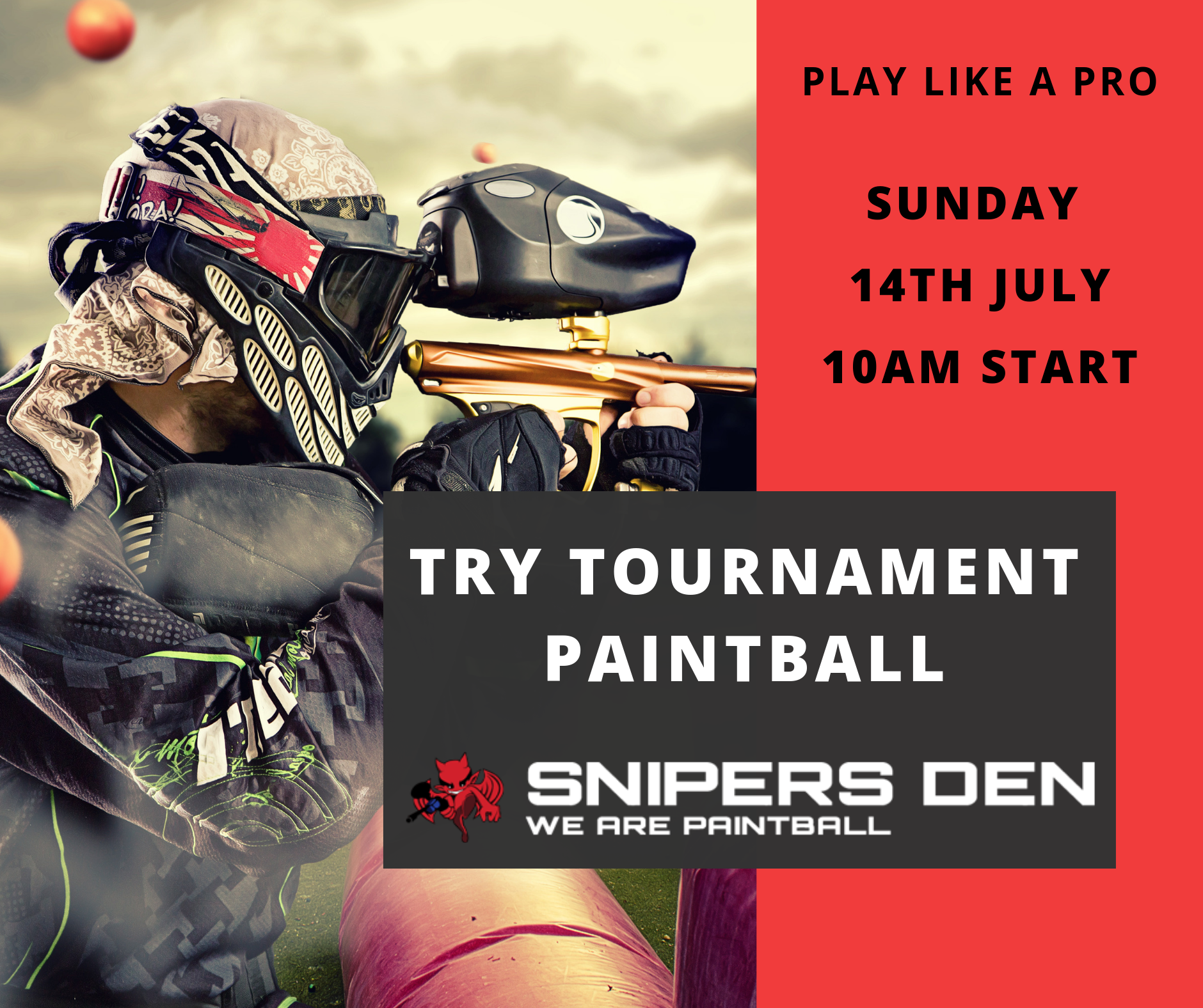 competition paintball training