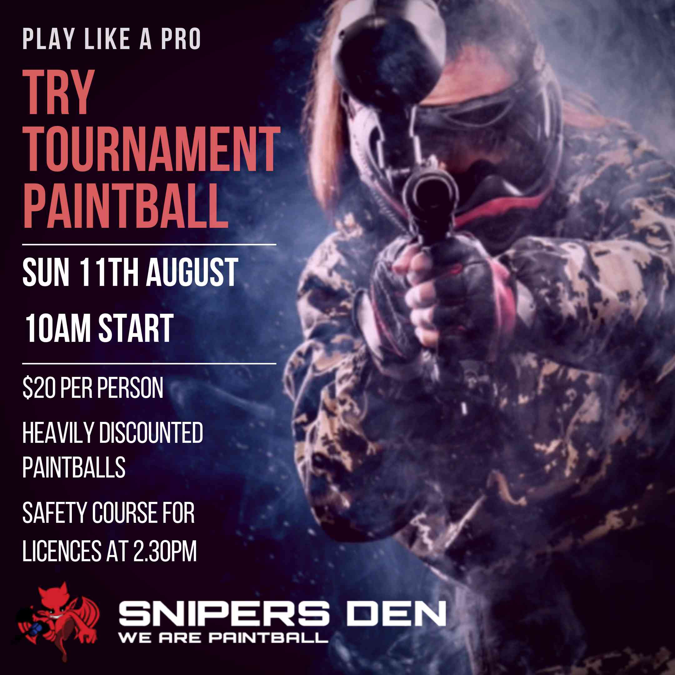 tournament competition paintball league