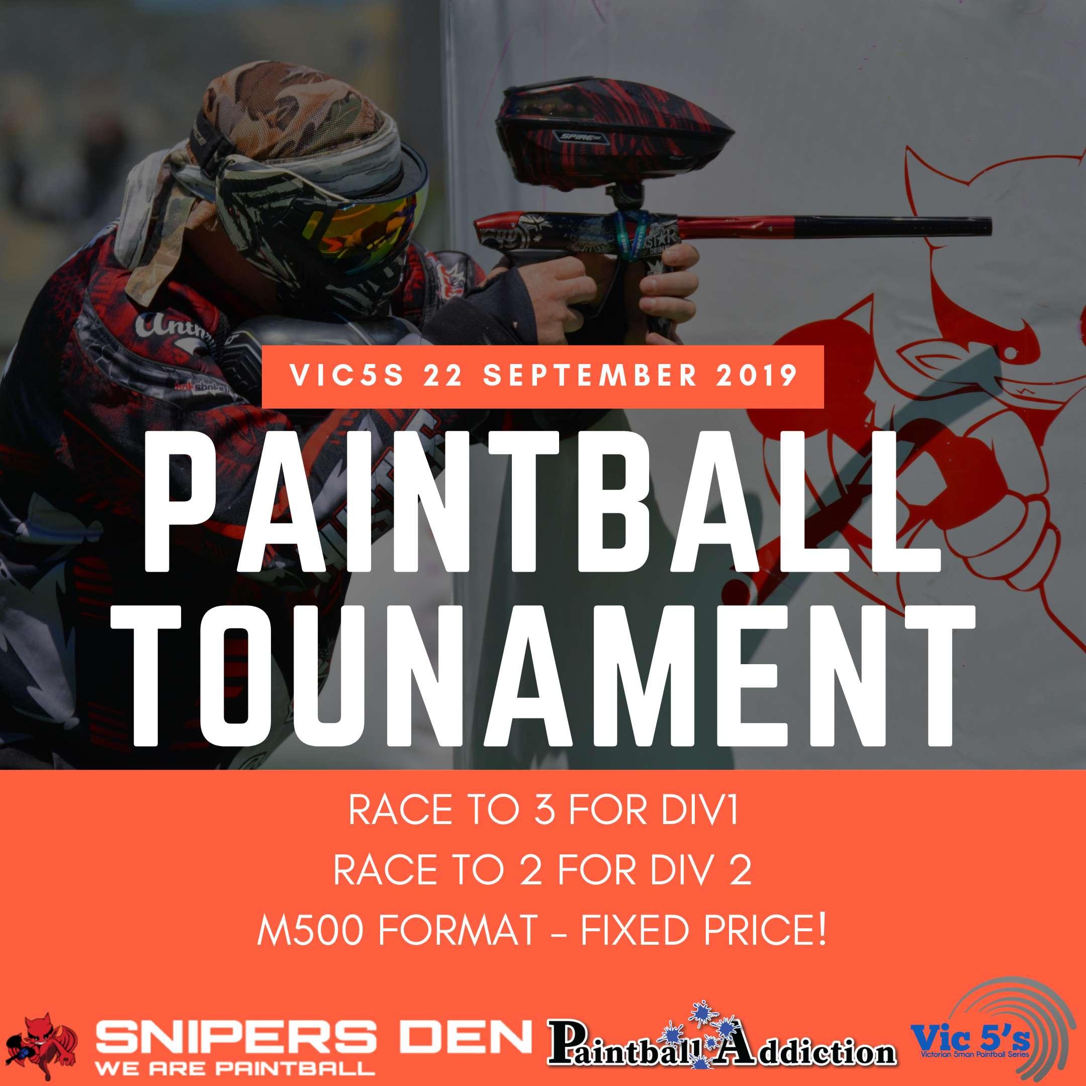 September Paintball Tournament