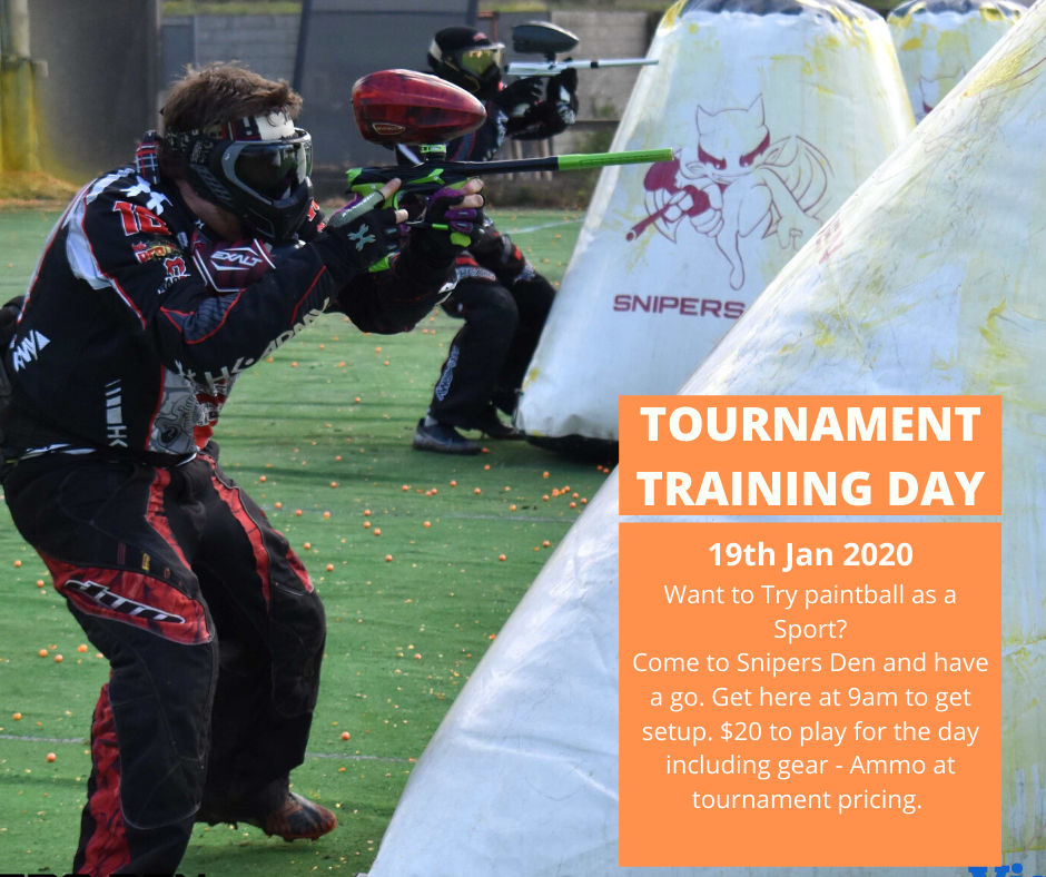 Paintball Training Day – Jan 2020
